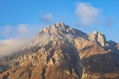Grigna góra przy zmierzchem obraz stock