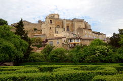Grignan, France royalty free stock photo