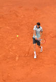 Grigor Dimitrov at the ATP Mutua Open Madrid Royalty Free Stock Photo
