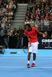 Grigor Dimitrov defeated Monfils in a demonstrative match in Are Stock Images