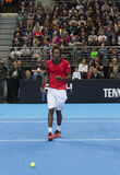 Grigor Dimitrov defeated Monfils in a demonstrative match in Are Royalty Free Stock Photo