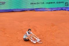 Grigor Dimitrov no Madri aberto do ATP Mutua Imagens de Stock