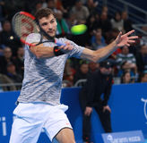 Grigor Dimitrov play on the court Stock Photo