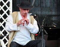 Grigore Lese al festival del George Enescu Immagini Stock