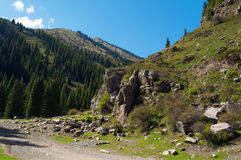 Grigorevsky gorge Stock Image