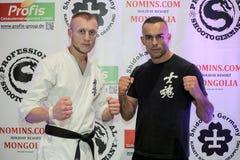 Grigori Winizki en Mourad Hosni Royalty-vrije Stock Fotografie