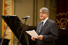 Grigorios Vassiloconstandakis. Is the new Greek ambassador to Bucharest. He previously served as Consul General in Cairo and Minister Plenipotentiary in 2012 Stock Photo