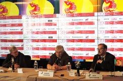 Grigory Libergal, Kirill Razlogov, Pyotr Schepotinnik Stock Photos