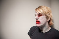 Grijnslachende Zombie Royalty-vrije Stock Afbeelding