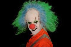 Grijnzende Clown stock afbeelding