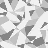 Grijs abstract geometrisch patroon Grey Polygonal Background Stock Afbeelding