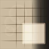 Grijs-bruine abstracte achtergrond met ruimte voor test Royalty-vrije Stock Foto's