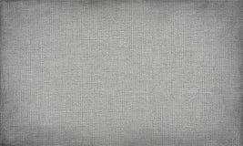 Grijs canvas met gevoelig net aan gebruik als grunge horizontale achtergrond of textuur royalty-vrije illustratie