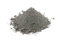 Grijs cementpoeder stock afbeeldingen