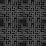 Grijs de textuur naadloos patroon met de wijzers van de klok mee van de baksteen spiraalvormig tegel Royalty-vrije Illustratie