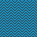 Grijs en blauw chevronpatroon Stock Foto's