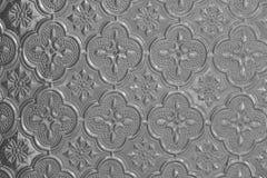 Grijs en grijs glas als achtergrond Oud uitstekend glas met een abstra Royalty-vrije Stock Fotografie