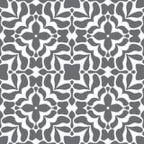 Grijs en wit naadloos stijlpatroon Royalty-vrije Stock Afbeeldingen