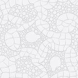 Grijs gebreid naadloos vectorpatroon  Royalty-vrije Stock Afbeelding