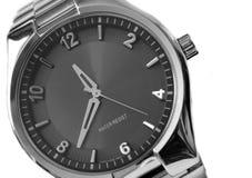 Grijs horloge Stock Foto