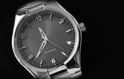 Grijs horloge Royalty-vrije Stock Fotografie