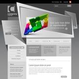 Grijs Malplaatje 960 van de Website Net. Vector Illustratie