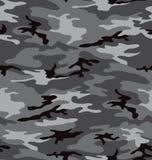 Grijs (naadloos) camouflagepatroon Royalty-vrije Stock Foto's