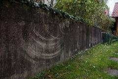 Grijs referncebeeld van de muurtextuur Royalty-vrije Stock Afbeelding