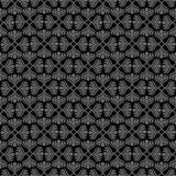 Grijs retro naadloos patroon Royalty-vrije Stock Afbeelding