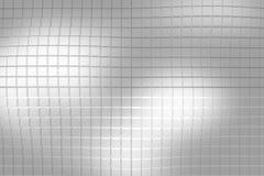 Grijs-witte plastic achtergrond Stock Foto