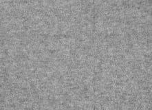 Grijs wollen textuur abstract naadloos patroon als achtergrond Stock Foto's