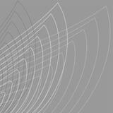 Grijze abstracte achtergrond - eenvoudige bloem. Royalty-vrije Stock Afbeelding