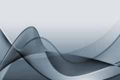Grijze abstracte illustratie Stock Afbeelding