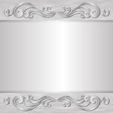 Grijze achtergrond Royalty-vrije Stock Foto's