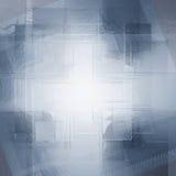 Grijze achtergrond van vierkanten Stock Foto