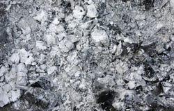 Grijze as van de oven, achtergrondtextuur, as, grijze as van hout royalty-vrije stock afbeelding