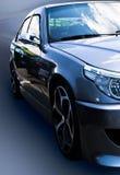 Grijze auto Royalty-vrije Stock Afbeeldingen