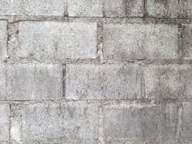Grijze baksteenblokken Royalty-vrije Stock Foto