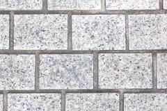 Grijze baksteenvloer Royalty-vrije Stock Afbeeldingen