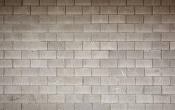 Grijze bakstenen muur Stock Afbeelding