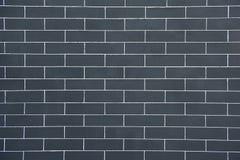 Grijze Bakstenen muur Stock Foto