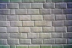 Grijze bakstenen muur Royalty-vrije Stock Foto