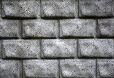 Grijze bakstenen muur royalty-vrije stock afbeelding