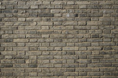 Grijze bakstenen muurachtergrond Royalty-vrije Stock Fotografie