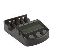 Grijze batterij chardger Stock Afbeelding