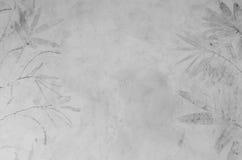 Grijze concrete muur, abstracte textuurachtergrond Royalty-vrije Stock Foto