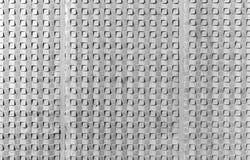 Grijze concrete muur, vierkant patroon, textuur Royalty-vrije Stock Foto
