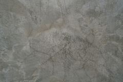 Grijze concrete muurschrijver uit de klassieke oudheid Stock Afbeelding