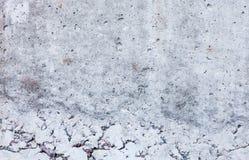 Grijze concrete oppervlakte Royalty-vrije Stock Afbeeldingen