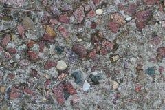 Grijze concrete textuur Granietbeton Frontaal beeld Stock Afbeelding